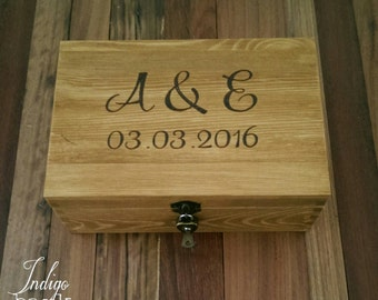 Large Wooden Gift Box - Personalised