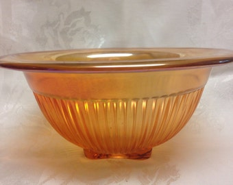 Carnival Glass  Mixing  Bowl