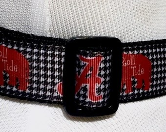Alabama Houndstooth + Elephants Collar