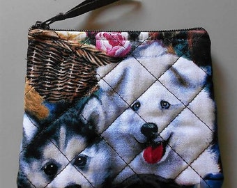 Puppies in a Basket - Coin Purse – CP187