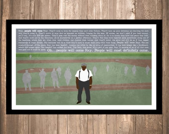 "INSTANT DOWNLOAD - Field of Dreams ""People Will Come"" Print"
