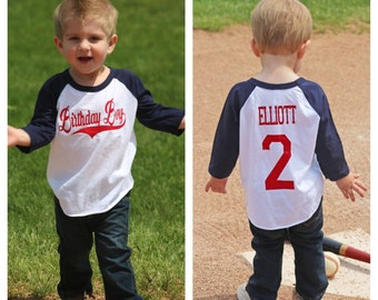 Baseball birthday boy shirt, boys birthday shirt,  baseball t-shirt, baseball birthday party, baseball party, baseball shirt, 1st birthday