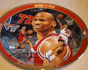 Collectible Michael Jordan Plate