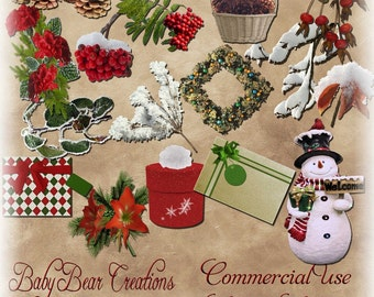 Commercial Use Christmas Elements 3