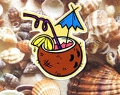 Coconut Drank Sticker