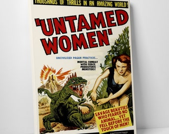 Untamed Women Gallery Wrapped Canvas Print