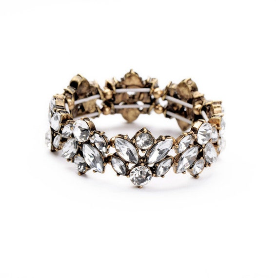 Crystal Luxe Stretch Bracelet