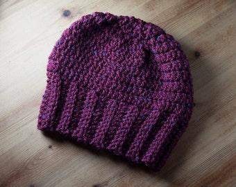 Crochet women slouchy hat