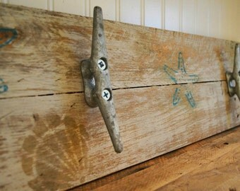 Rustic Towel Rack - 24""
