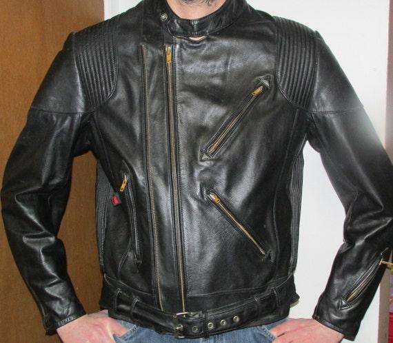 hein gericke leather jacket designed for hondaline mens 46. Black Bedroom Furniture Sets. Home Design Ideas