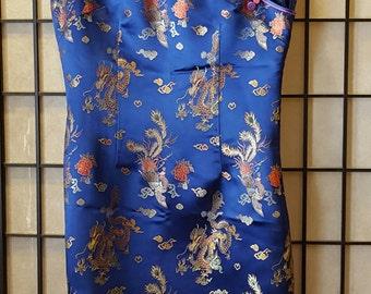 Blue Asian Style Dress