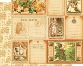 CLEARANCE SALE!  Graphic 45 An Eerie Tale 12x12 Paper Mega Kit