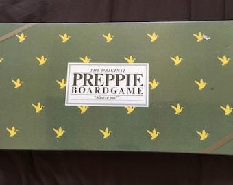 Vintage Board Game Preppie