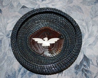 "Pine Needle Basket ""Thunderbird"""