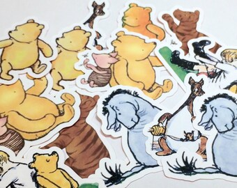 Winnie the Pooh Die Cuts,Cut Outs,Paper Embellishments,Scrapbooking Die Cuts,Winnie the Pooh Die Cuts,Winnie the Pooh Baby Shower,paper cuts