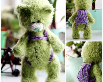 Bear Teddy, Knitted Bear for Children