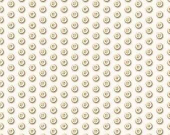 Thimble Pleasures Eggshell Buttons from Quilting Treasures By the yard