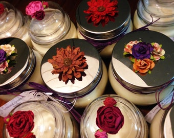 NEW Valentine's Day Soy Candles