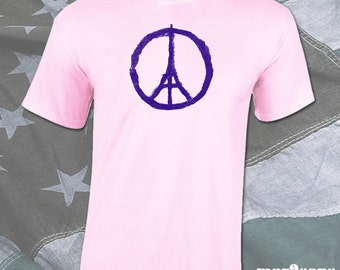 Paris Peace - Mens Shirt