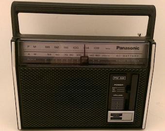 Vintage Panasonic RF 537 Portable Radio Transistor Radio