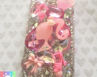 Glam Gems 3D bling phone case- 1pc Apple Iphone 4/4s Cell phone case/Sale
