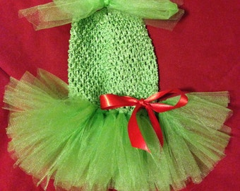grinch dog costume lime green dress for dogs holiday dog dress christmas tutu - Baby Grinch Halloween Costume
