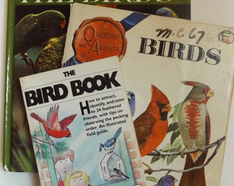 The Bird Books: Set of Three Informational Books About Birds
