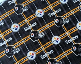 """Pittsburgh Steelers Receiving Nursing Blanket 42"""" x 36"""""""