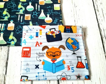 Oversized Baby Receiving Swaddle Blankets Science Chemestry Receiving Blanket