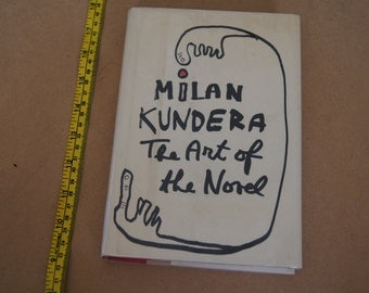 Vintage 1988 -  - The art of the novel milan kundera 1988 - discarded library book hardcover