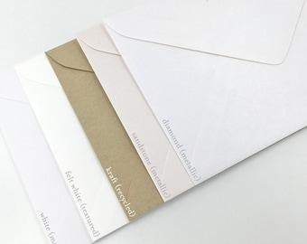 C5 Invitation Envelopes 229mm X  162mm (Pack of 10)