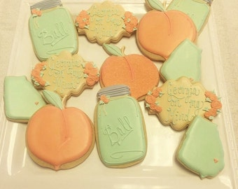 Georgia Peach cookies