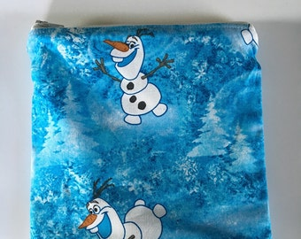 Frozen- Olaf Reusable snack bag, sandwich bag etc...