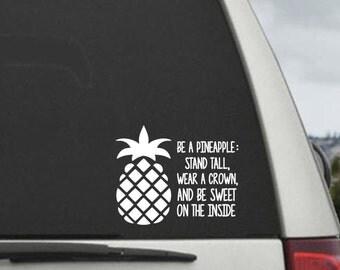 Pineapple Quote Etsy