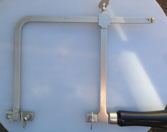 Jeweler's Saw Frame German Style Adjustable up to 6 1/2 inches with a 5 inch Throat