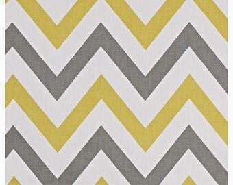 Rideaux gris jaune etsy - Rideau jaune et blanc ...