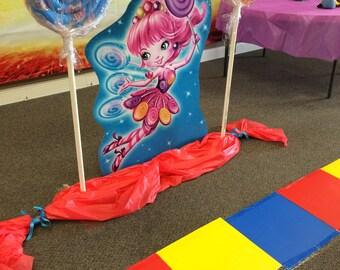 Candy Land Lollipop Props