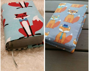 Jw NWT bible cover Mr Fox reversible