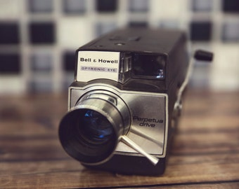 Bell & Howell Optronic Eye Perpetua Drive Video Camera