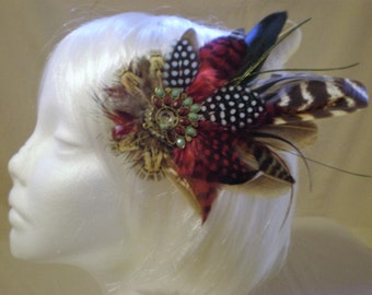 Marooned Feather Hair Piece