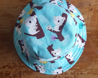 Reversible Bucket Hat - Sizes from newborn - adult