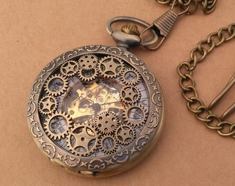 Alethiometer Inspired Steampunk Necklace BOOK VERSION