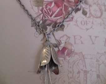 Quicksilver Fae - Fairy Bell Necklace-  N 167