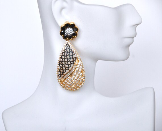 SALE 50% OFF High Quality Cubic Zirconia Earrings  | Indian Jewelry | Indian Earrings | South Indian Jewelry | Gold Plated