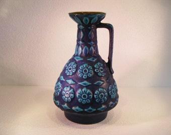 Blue Bay Keramik Fat Lava vase