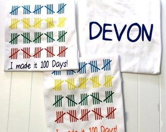 100 days of school - 100th day shirt - back to school shirt - one hundred days shirt - girls back to school - boys back to school - school