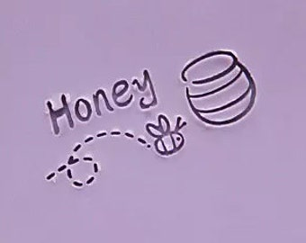 Honey Soap Stamp Bee Soap Stamp Acrylic Soap Stamp Bee Handmade Soap Stamp