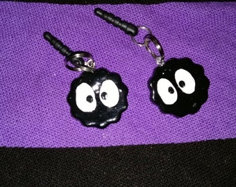 Soot Sprite Gremlin Cell Phone/Ipod Dust Plug Charm