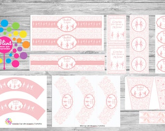 Ballerinas Printable party set!!!