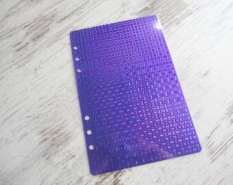 A5 Dokibook dashboard sparkling purple
